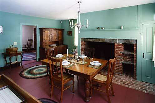 Dining Room - Amos Brown, an historic vacation rental property - Whitingham - rentals