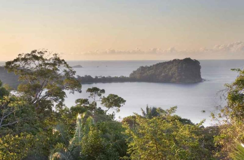 View from the balcony - Beachhouse with Great Ocean View - Manuel Antonio National Park - rentals