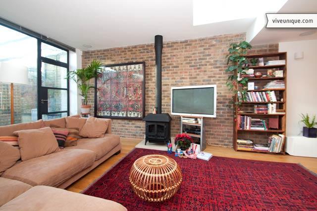 Bohemian style two bed, near Hampstead Heath - Image 1 - London - rentals