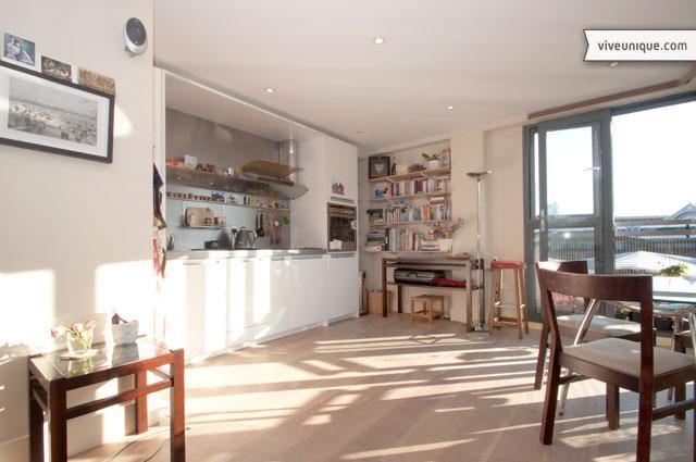 Bright apartment overlooking Borough Market, London Bridge - Image 1 - London - rentals