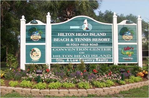 HHBT Entrance - Ocean Villa on Hilton Head Island, SC - Hilton Head - rentals