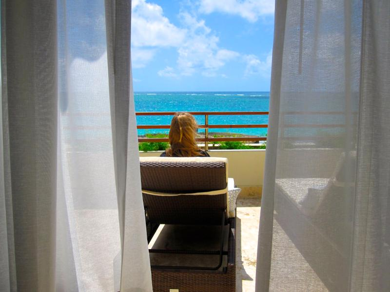 Your views are ocean, ocean and beach - DAZZZLING Ocean Beach Front 2BR Apartment - Punta Cana - rentals