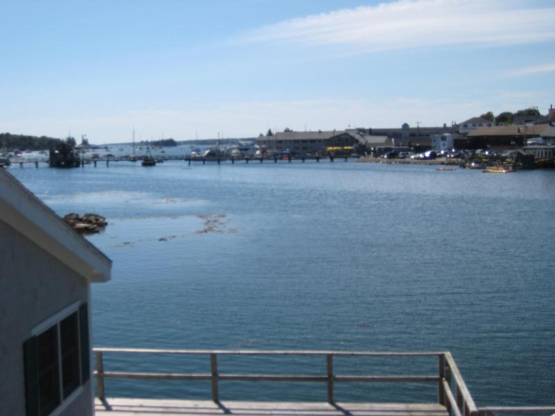 View from balcony. - Waterfront Condo in Boothbay Harbor - Boothbay Harbor - rentals