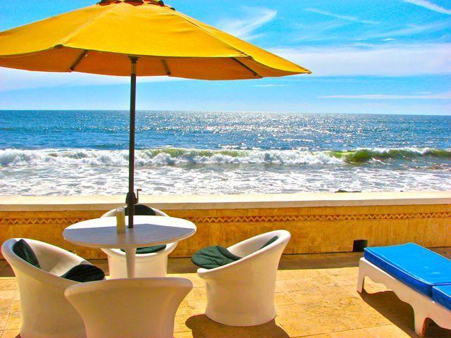 Your Beach Patio - Luxury 2BR on Ocean Breakwater Private Beach Door - Mazatlan - rentals