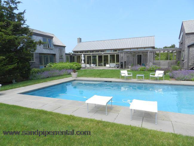 #7162 A tranquil resort-like 4 bedroom contemporary home - Image 1 - Edgartown - rentals