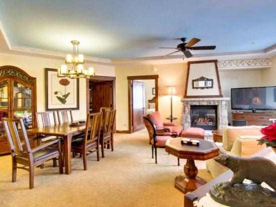 Newly Remodeled in Extreme Luxury, 2-Bedroom Slope-Side Crystal Peak Lodge Ski-In Ski-Out Condo - Image 1 - Breckenridge - rentals