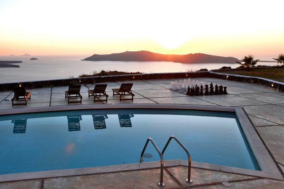 Ultra Luxury villa with 5 bedrooms and prive pool - Image 1 - Santorini - rentals