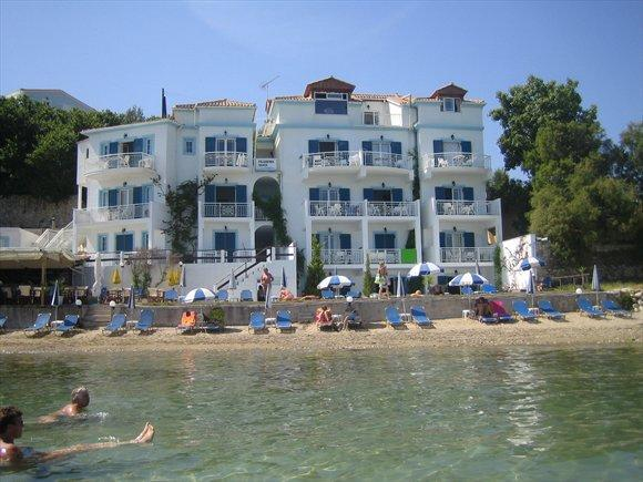 Filoxenia Beach Apartment on top of the beach - Image 1 - Tsilivi - rentals