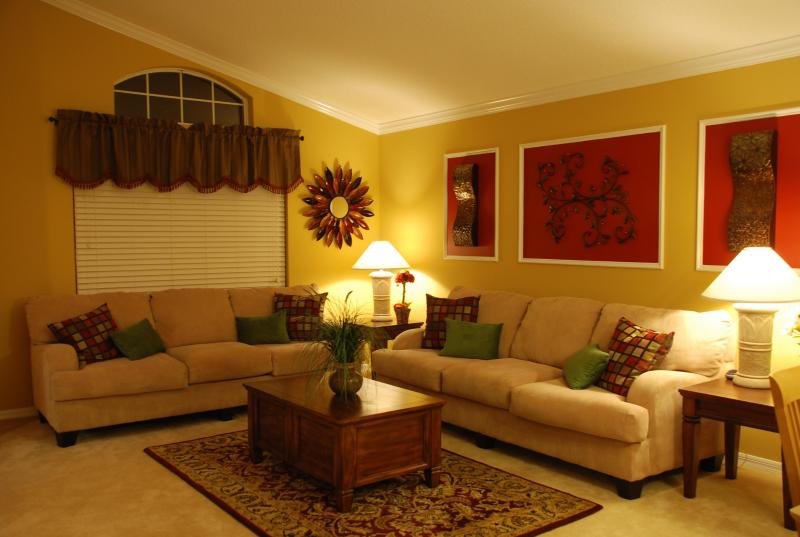 Tastefully decorated Formal Living - Absolutely Stunning Pool Home In Solana Resort!! - Davenport - rentals