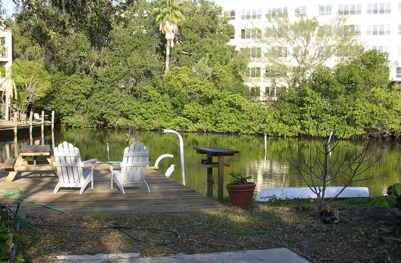 Relax on the dock - Studio apt. downtown Sarasota waterfrt - Sarasota - rentals
