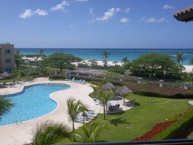 Amazing, panoramic, exquisite, turquoise ocean view! - Turquoise View Two-bedroom condo - BC353 - Eagle Beach - rentals