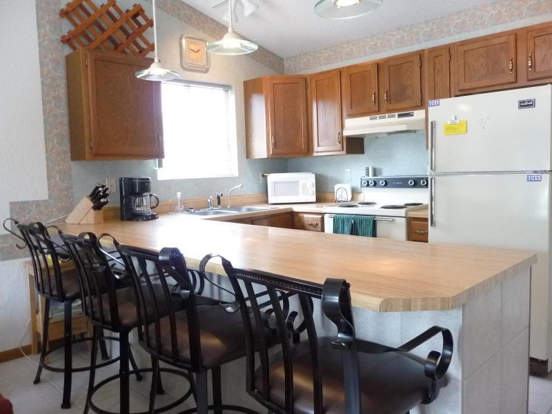 Kitchen - Two Bedroom Lakefront Condo at Southwood Shores - Lake Ozark - rentals