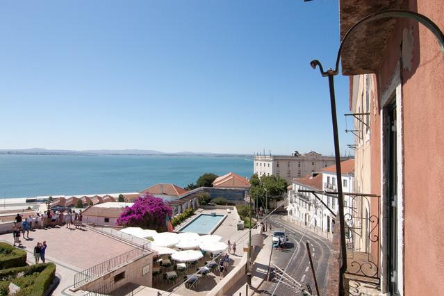 View from the Balcony - Alfama and Tejo Awesome View! - Lisbon - rentals