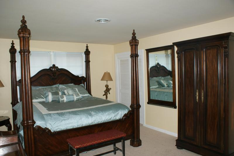 Step into luxury in the Master Bedroom - Ocean Retreat by the Shore - Virginia Beach - rentals