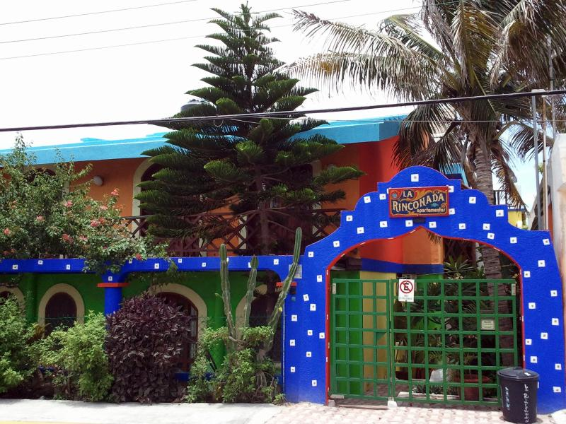 entrance - La Rinconada apartamentos - Isla Mujeres - rentals