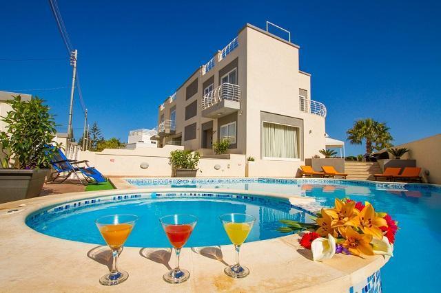 full view of Villa diamantina - 7 Bedroom Villa with pool in malta near St.Julians - Saint Julian's - rentals