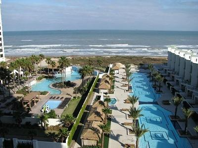 View from the balcony!  Easy access to the beach. - Sapphire 707: AWESOME DISCOUNTS FOR AUGUST! - South Padre Island - rentals