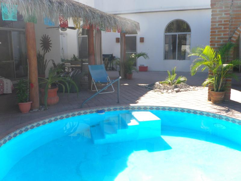 Pool and Patio - Casa Cardon - Book Your La Paz Vacation Today! - La Paz - rentals