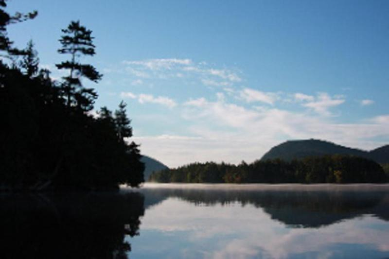 View from Water's Edge Down Long Pond - Long Pond Waterfront with 2 Kayaks and a Canoe! - Mount Desert - rentals