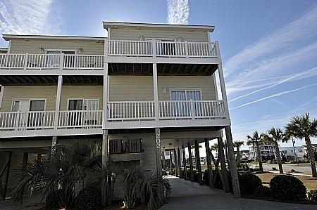 exterior - Sea Star 202, 202 Sea Star Circle, Island, Book Now and SAVE UP TO $715!! - Surf City - rentals