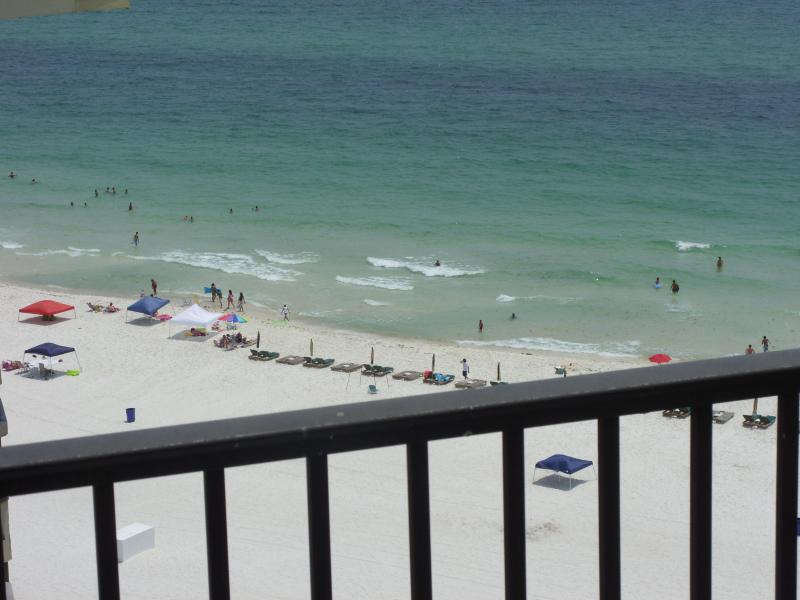 View from Penthouse Balcony - Comfortable 1 Bedroom Top Floor Penthouse on the Beach - Panama City Beach - rentals