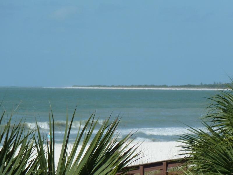 View from beachfront lanai - REMODELED  BEACHFRONT rental on Marco Island--WOW - Marco Island - rentals