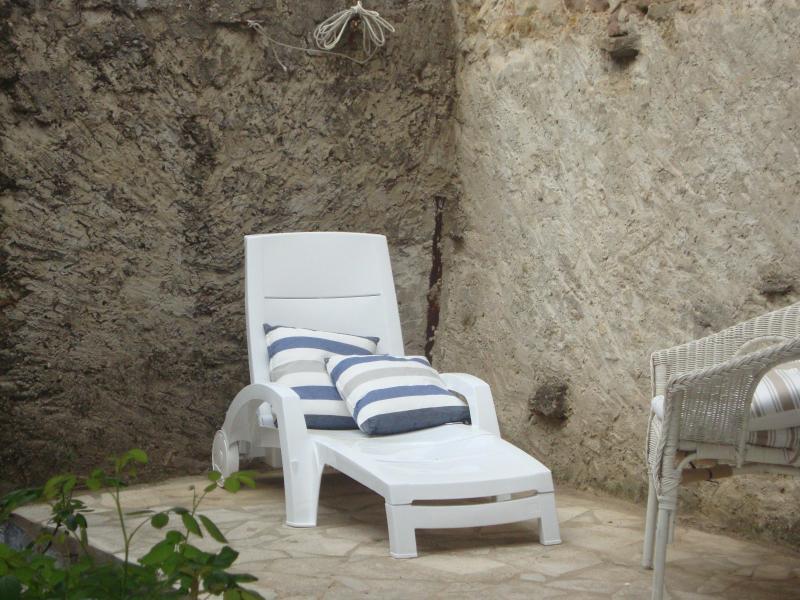 terrace - Stunning Courtyard Villa in Market village Olonzac - Olonzac - rentals