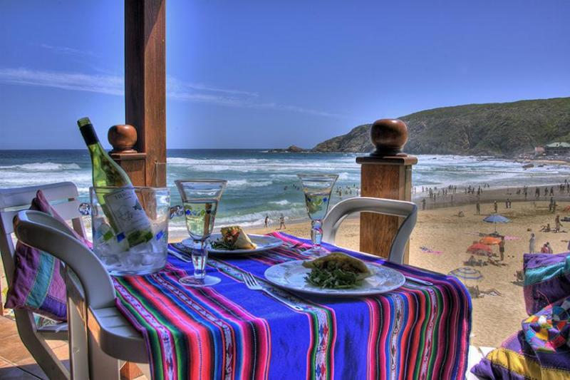 View from top unit balcony - Beautiful self catering units on the best location - Western Cape - rentals