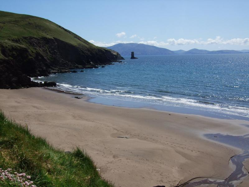 Gorgeous Sandy Beach. 2 minute stroll down lovely quiet country lane - Luxury Home by Beach Great View of Dingle Bay.WIFI - Dingle - rentals