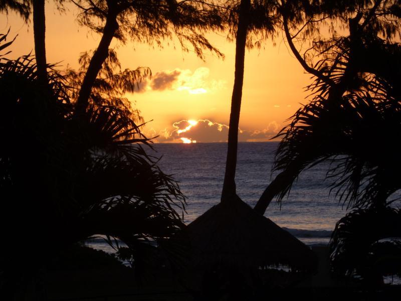 sunrise from lanai - Islander Getaway Ocean View 241 - Kapaa - rentals