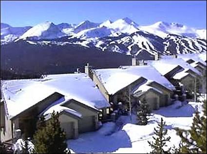 Located Only 1 1/2 Blocks from the Shuttle - Modern Mountain Townhome - Only 1.5 Blocks to Shuttle  (6164) - Breckenridge - rentals