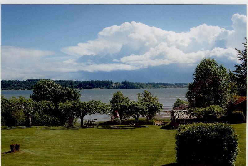 Overlooking Comox Bay - Beachwood House-Spectacular Beach Vacation! - Courtenay - rentals