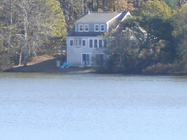 See how close the pond is! - 30' from pond, Private 4 bedrooms, Internet! - Eastham - rentals
