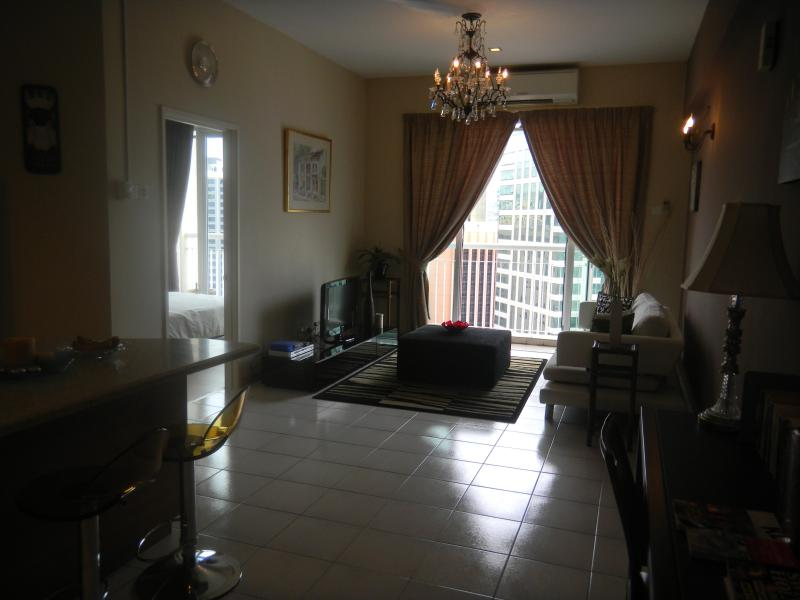 Spacious living area - K Lumpur City Centre Serviced Apartment (Somerset) - Kuala Lumpur - rentals