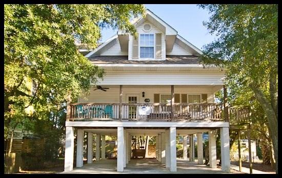 exterier view - Jones Beach House - Tybee Island - rentals