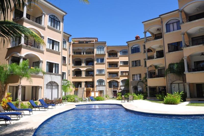 Pool - Casa Solamar, 3 Bedroom Beach Side Condo - Tamarindo - rentals