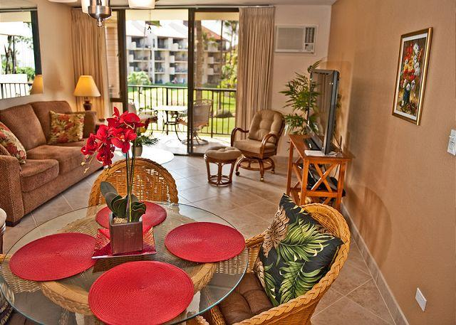 Top Rated Ocean View 1-Bedroom in the Inner Courtyard - Image 1 - Kihei - rentals