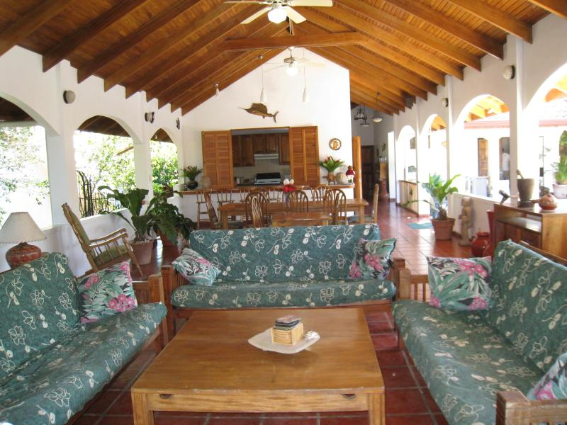 Great Room - Costa Rican beach hideaway, 3-5 bdrm's w/ prv.pool - Playa Carrillo - rentals