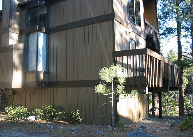 Balcony - Beautifully remodeled 3 bedroom, 2 bath plus loft condo in Lake Village - Zephyr Cove - rentals