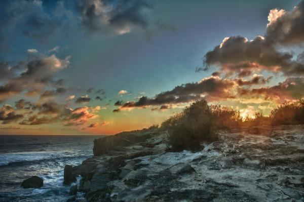 Sunset - Great view, wow. Steps to our beach for swimming - Kapaa - rentals