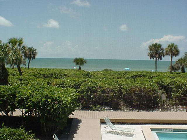 Gulf view from our private balcony! - White Sands #13 Gulf front condo on Sanibel Island - Sanibel Island - rentals