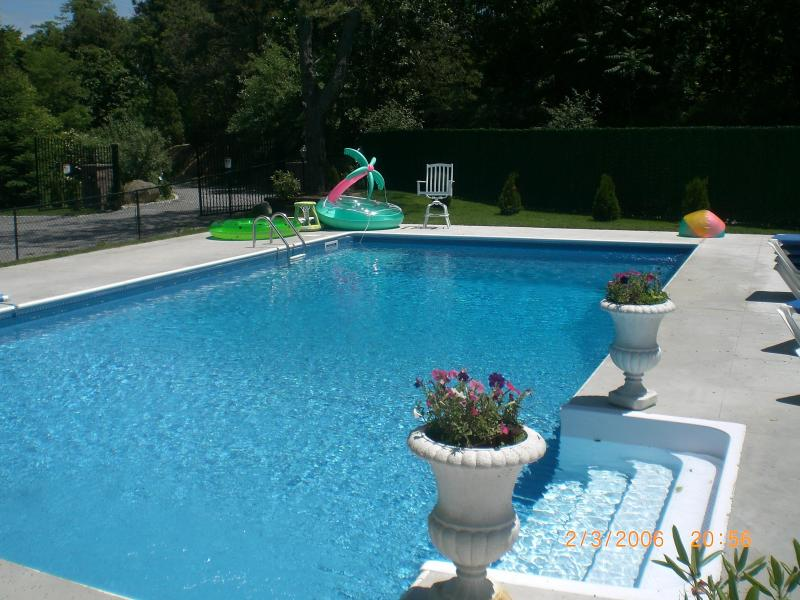 olympic sized heated pool - Majestic Southampton Waterfront Estate - Southampton - rentals