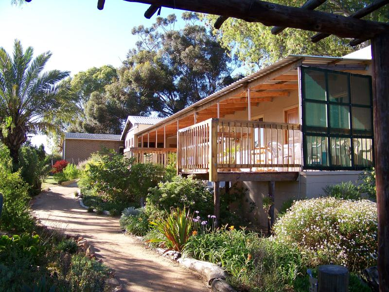 View of two apartments with view decks - Apartments in a quiet valley on Rooibos tea estate - Clanwilliam - rentals