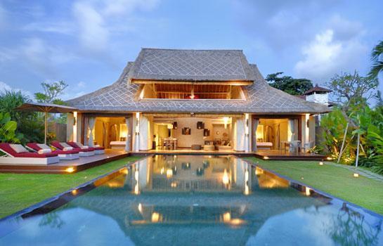 Pool and Garden - Space at Bali - 2 Bedroom Private Villas - Seminyak - rentals