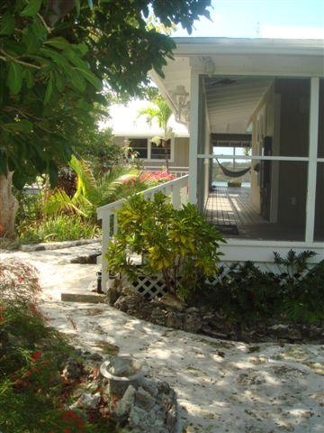 Entrance to The Cottage - The Cottage - from $3,000 per week - Abaco - rentals