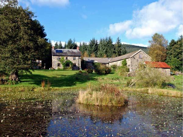 CWM BEDW FARMHOUSE, family friendly, character holiday cottage, with open fire in Abbey-cwm-hir, Ref 12623 - Image 1 - Abbey-cwm-hir - rentals