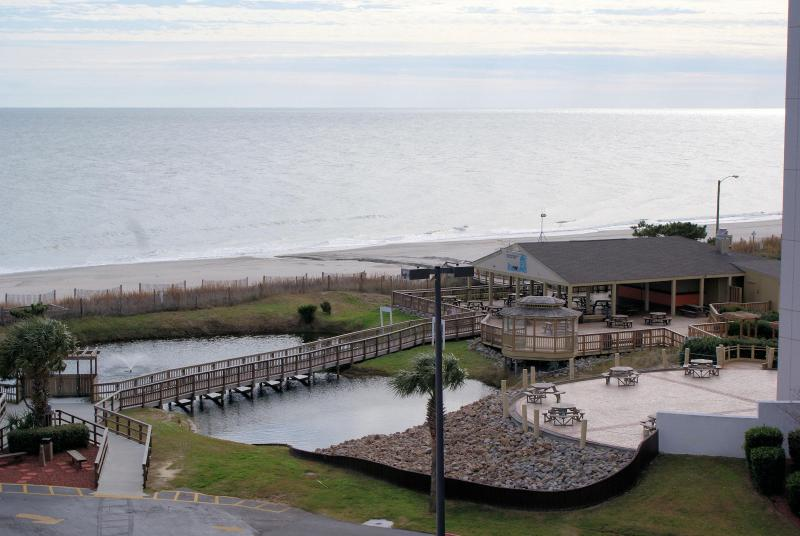 view from Balcony - Myrtle Beach 2 Beddroom Condo with Spectacular Ocean View - Myrtle Beach - rentals