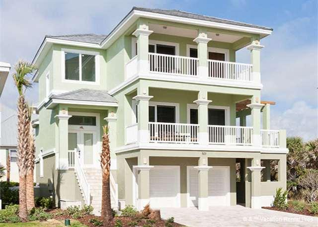 Welcome to Dancing Dolphin on Cinnamon Beach - Dancing Dolphin, 6 bedrooms, Ocean Views, elevator, pool, spa - Palm Coast - rentals