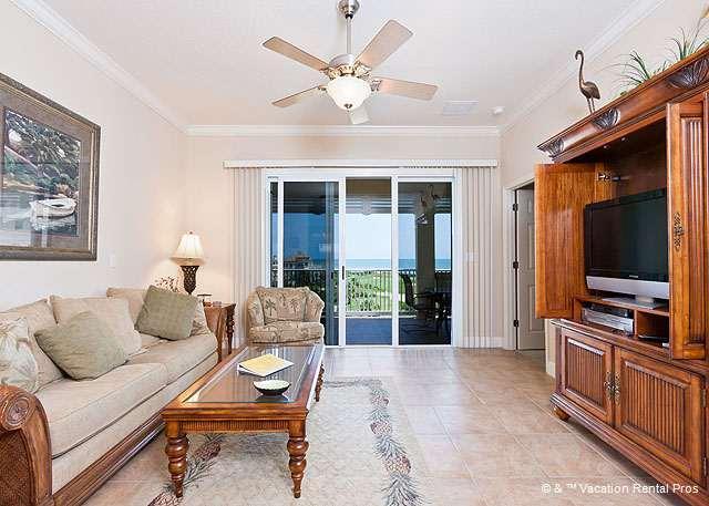 Make yourself comfortable and enjoy HDTV & ocean views - 153 Cinnamon Beach, 3 bedrooms, Ocean Hammock Golf Course - Palm Coast - rentals