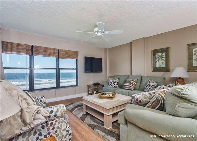 Feel right at home at Sand Dollar II 503 - Sand Dollar II 503, 5th Floor, Top Floor, BeachFront, 3 bedrooms - Saint Augustine - rentals